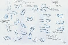 Lilo's hands - character design