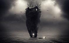 dark island by CharllieeArts.deviantart.com on @DeviantArt
