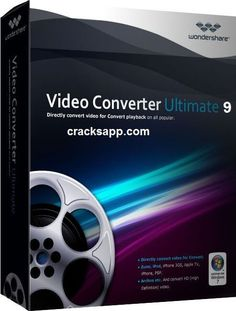 Wondershare Video Converter Ultimate 9 Crack + Serial Key Free. It is a blazing-fast drag-and-drop digital video converter, DVD burner and all video editor.