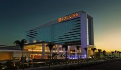 Solaire Resort & Casino is set against the scenic backdrop of Manila Bay. A walk from Mall of Asia Arena, it features luxurious rooms with free Wi-F. Casino Hotel, Thing 1, Dream City, Palawan, Travel News, Staycation, Hotels And Resorts, The Expanse, Air