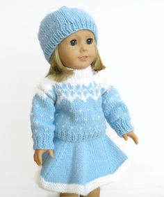 18-Zoll-Puppe Kleider Doll Outfit Winter von PreciousBowtique