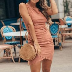 DRESSES – Page 14 – jojochili Skater Dress, Bodycon Dress, Cutaway Collar, Curvy Dress, Dress Silhouette, Dress Brands, Casual Outfits, Casual Clothes, Crew Neck