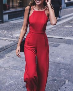 Cool 41 Elegant Jumpsuits Ideas for Women. More at http://aksahinjewelry.com/2017/09/27/41-elegant-jumpsuits-ideas-women/