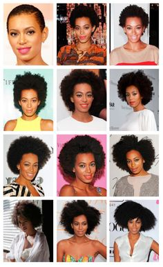 Check out Solange's natural hair growth journey #Solange #naturalhair #hairgrowth
