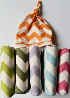 Childrens Bedding, Chevron Blanket, Choose Your Color, Soft Organic Cotton, Bedspread for Kids. $66.40, via Etsy.