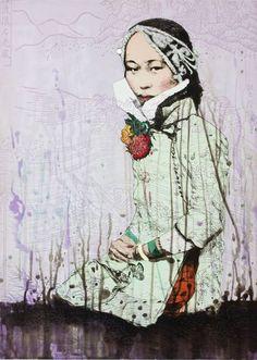 Shui-Water. By Hung Liu, 2012.