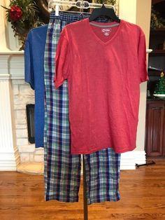 b2de7dae43 MENS SLEEPWEAR MULTICOLOR SLEEP PANTS TOMMY HILFIGER SZ M 2 TSHIRTS SZ L   fashion  clothing  shoes  accessories  mensclothing  sleepwearrobes (ebay  link)