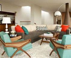 Amazing mid-century modern living room design ideas 13