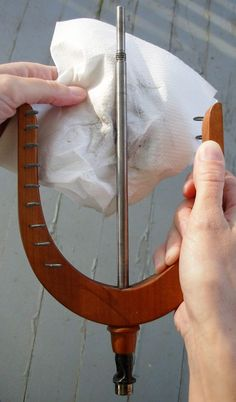 Knittyspin Glossary: Spinning wheel spa: aka the caring and cleaning of your spinning wheel.