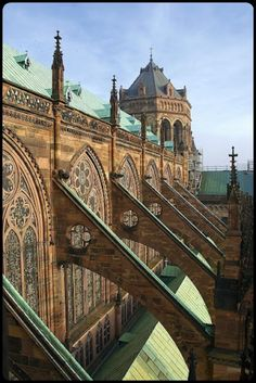 Flying Buttresses of Strasbourg Cathedral  by allanimal on Flickr