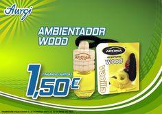 Oferta Semana Santa 2014 - Siente la esencia del Ambientador Wood. Más información en www.aurgi.com/