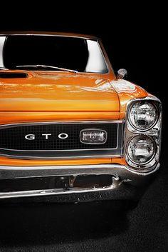 orange 60s Pontiac GTO