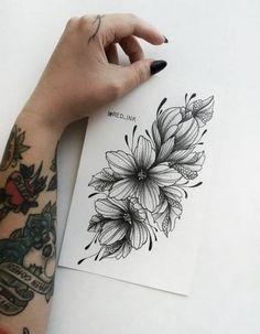 Ideas Drawing Tattoo Ideas Sketchbooks - New Site Stencils Tatuagem, Tattoo Stencils, Future Tattoos, New Tattoos, Body Art Tattoos, Tatoos, Piercing Tattoo, Arm Tattoo, Sleeve Tattoos