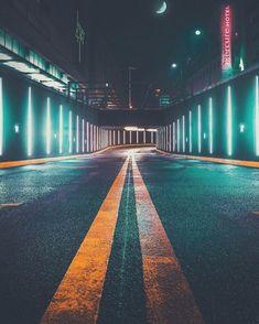 Beautiful Landscape Photography, Artistic Photography, Beautiful Landscapes, Photography Aesthetic, Road Photography, Cinematic Photography, Photography Ideas, Aerial Photography, Night Street Photography