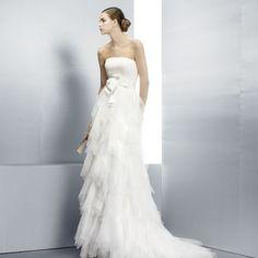 Strapless Wedding Gown, Jesus Peiro