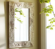 Would love this mirror over my antique dresser in my bedroom. Unfortunately, Pottery Barn's version is pricey, so looks like I'll be heading to some flea markets!