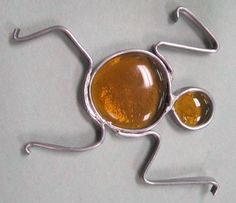Nugget Man!  Learn to make this and other projects at Anything in Stained Glass's Beginner's 101 Class.