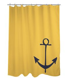 Take a look at this Vintage Anchor Shower Curtain by OneBellaCasa on #zulily today!