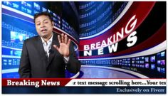 wish Happy Birthday or Congratulate as a Breaking News by ashwanithakur