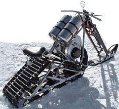 snowmobile chopper