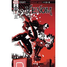 Venom (2016-) #161 Written by Mike Costa Art by Javier Garron Cover by Javier Rodriguez TANGLED WEBS BEGINS! Cured of the metabolic disorder affecting the symbiote's mental state Venom is back to acting like his old Lethally Protecting self. But battling your way through New York City doesn't go unpunished and Eddie and the symbiote are about to discover that the hard waywhen the wall-crawling super-sleuth SPIDER-WOMAN kicks in their door!