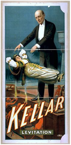 Shop Kellar the Magician Reissue Vintage 36 x 24 Poster created by SteveBrownleeArt. Vintage Circus, Vintage Ads, Vintage Posters, Vintage Prints, Vintage Signs, Broadway Poster, Circo Vintage, Sleight Of Hand, Circus Poster