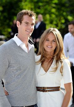 Andy Murray and Kim Sears' love story - hellomagazine.com | They've been together since '05 through Murray's less glorious days to his triumphs now