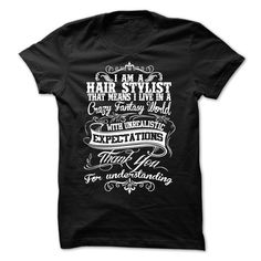 I am a Hair Stylist T-Shirts, Hoodies. ADD TO CART ==► https://www.sunfrog.com/LifeStyle/I-am-a-Hair-Stylist-19791059-Guys.html?id=41382