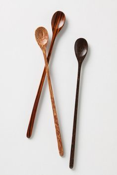 I love using ice tea spoons for a tall glass of iced tea or a  tall mug of hot coffee. I would love to have these!