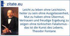 Zitat von Theodor Fontane