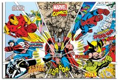 Marvel-Comic-Superhero-Action-Large-Wall-Poster-New-Laminated-Available