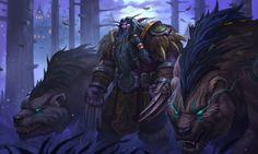 World Of Warcraft Druid, Warcraft Art, Druida Wow, Elf Druid, Elf Art, Medieval, Night Elf, Alien Races, Fantasy Setting