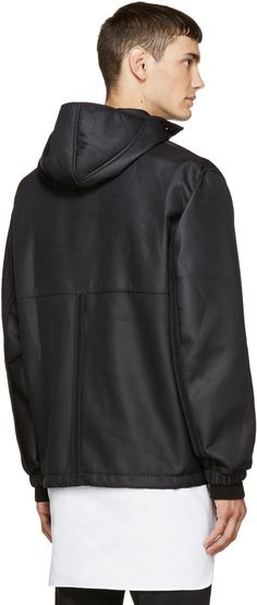 Tim Coppens Black Hooded FZ Jacket