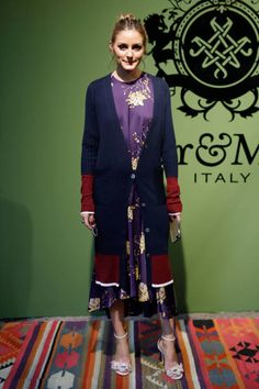 Olivia Palermo is seen at the MrMrs Italy Presentation during Milan Fashion Week Spring/Summer 2018 on September 22 2017 in Milan Italy