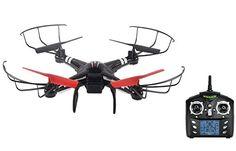 T&T Q222 WLtoys presión de aire drone roja flotando en lo alto del rc rtf Quadcopter , eu adapter - http://www.midronepro.com/producto/tt-q222-wltoys-presion-de-aire-drone-roja-flotando-en-lo-alto-del-rc-rtf-quadcopter-eu-adapter/