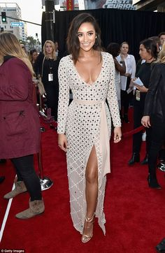 Pretty Little Liar done good! Shay Mitchell arrived at the premiere of Mother's Day at the TCL Chinese Theatre in Los Angeles on Wednesday in a striking outfit