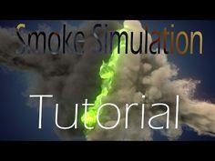 Blender smoke simulation tutorial: Smoke Recoloring - YouTube