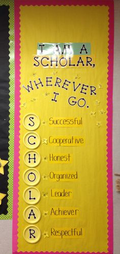 Great year round display and reminder! I love this for my classroom door. Classroom Bulletin Boards, Classroom Posters, Classroom Setup, Classroom Design, Classroom Displays, School Classroom, Classroom Organization, Classroom Door Decorations, Bulletin Board Ideas For Teachers