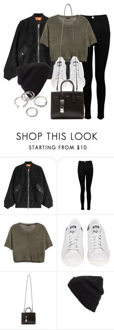 """""""Untitled #11796"""" by vany-alvarado ❤ liked on Polyvore featuring Alexander Wang, Boohoo, H&M, adidas, Yves Saint Laurent, BP. and Forever 21"""