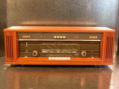 "Philips Reverbeo B7X44A Beautifull Mint Tube Radio and ""Full Stereo"" 108MHz 