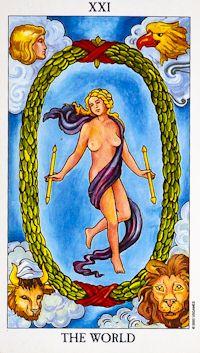 World Tarot Card Meanings tarot card meaning