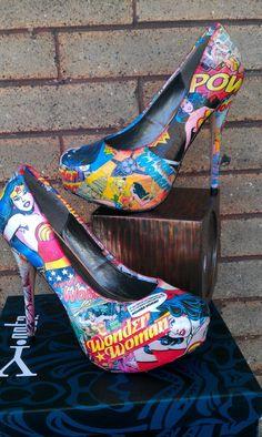 Wonder Woman Style 2 not vintaged by FaithisFabulous on Etsy