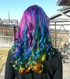 Stripteasebitch's #RainbowHair
