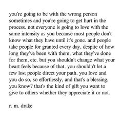 gift to others. ▪ SIGNED PRE-ORDERS for are available via link on bio. ***official release date is May in book stores world wide*** Rm Drake Quotes, Sad Quotes, Best Quotes, Love Quotes, Inspirational Quotes, Qoutes, Heartbreak Quotes, Favorite Quotes, R M Drake