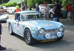 TR4 Rally Car