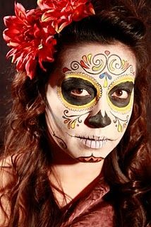 more candy skull makeup