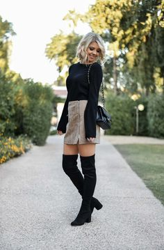 Black and Brown for Fall #FallStyle #FallFashion