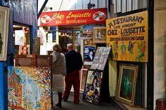 Saint- Quen flea market
