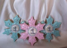 images of disney frozen cookies | 12 Disney's Frozen Snowflake Sugar Cookies / Holiday Gift by The ...