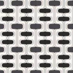 Graham & Brown 56 sq. ft. Groovy Black Wallpaper-30-219 at The Home Depot